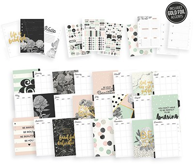 Planner Box Set - Carpe Diem  - JuJu Scrapbook