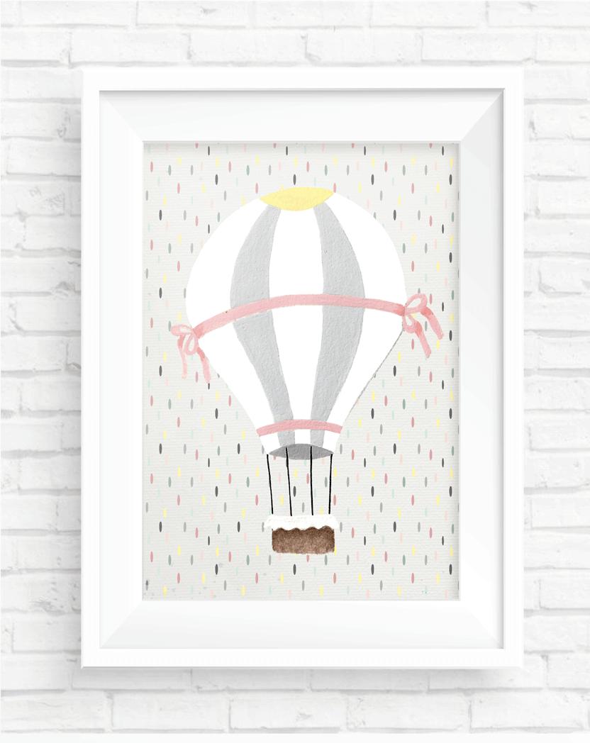 Poster Balão - Coleção Meu Coração É Seu / Juju Scrapbook  - JuJu Scrapbook