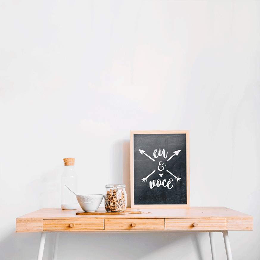 Poster Eu & Você - Coleção Todo Momento Importa / Juju Scrapbook  - JuJu Scrapbook