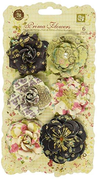 Prima Flowers - Paloma Collection Madeline / Prima Marketing   - JuJu Scrapbook