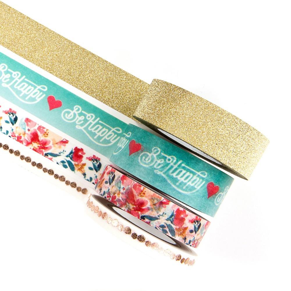 Washi Tape - Be Happy / Prima Marketing   - JuJu Scrapbook