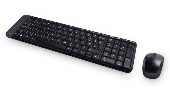 Mouse e Teclado Wireless Logitech Mk220  - Sixtosix