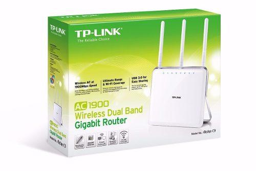 Router Gigabit Dual Band sem fio AC1900  Archer C9  - Sixtosix