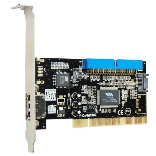 PLACA PCI MULTI I/O IDE,SATA,E-SATA MOD. 9133 - COMTAC  - Sixtosix