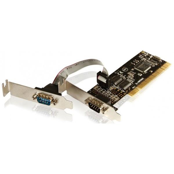 Placa PCI Low Profile - 2 portas Seriais  - Sixtosix