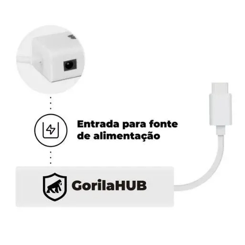 Hub usb  Typo C Gorila  - Sixtosix