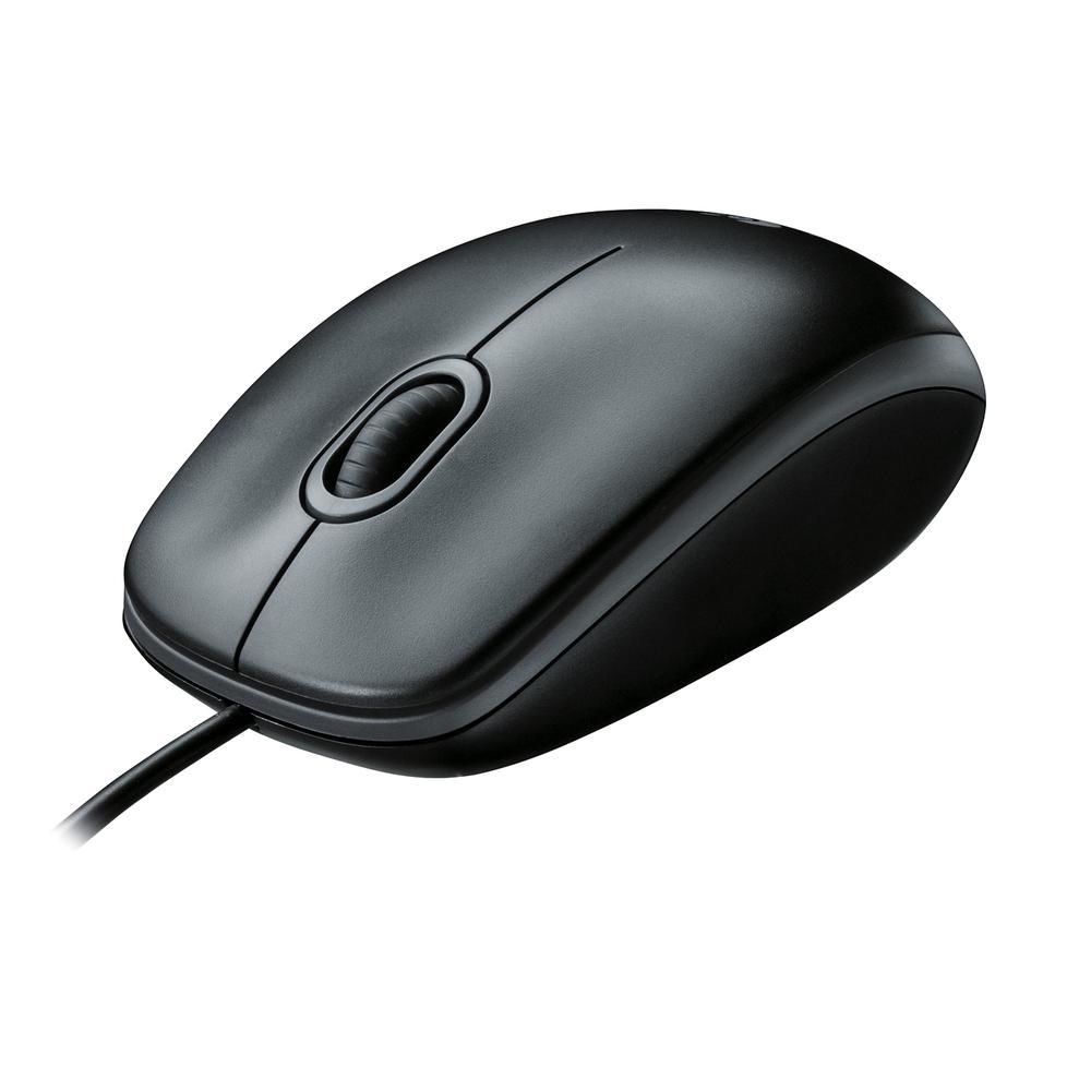 Mouse sem fio Logitech M280 com Conexão USB e Pilha Inclusa   - Sixtosix