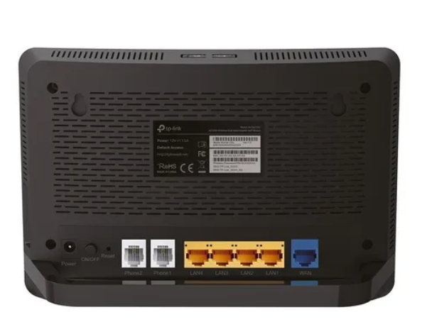 Roteador Tp-link Archer C5v Wireless Dual Band Gigabit Voip  - Sixtosix