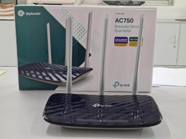 Roteador Wireless TP-Link AC750 Archer C20  - Sixtosix
