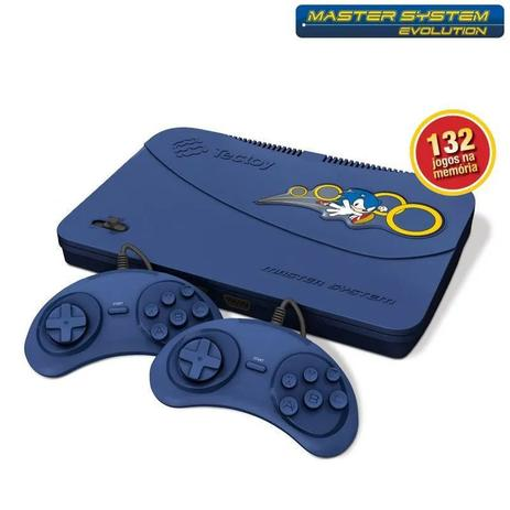 Video Game Master System Evolution com 132 jogos - Tectoy  - Sixtosix
