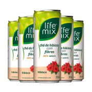 CHÁ DE HIBISCO - COM FIBRAS - LIFE MIX  pack 6 uni.