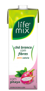 CHÁ BRANCO SABOR PITAYA COM FIBRAS - LIFE MIX - 1L