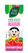 SUCO DE MORANGO COM MAÇÃ - LIFE MIX KIDS - 200 ML