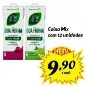 Chá funcional Life Mix Boa Forma sabores variados - 12 unidades de 1 Litro
