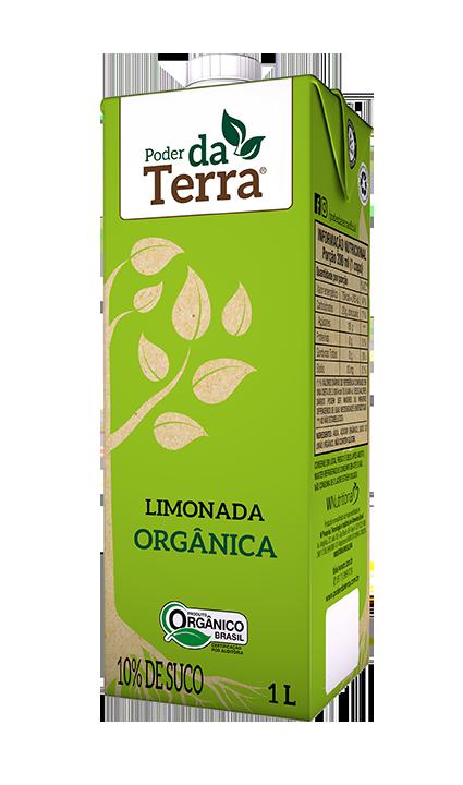 PODER DA TERRA LIMONADA ORGÂNICA TRADICIONAL - 1L
