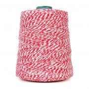 Barbante de algodão colorido para linguiça -1 KG