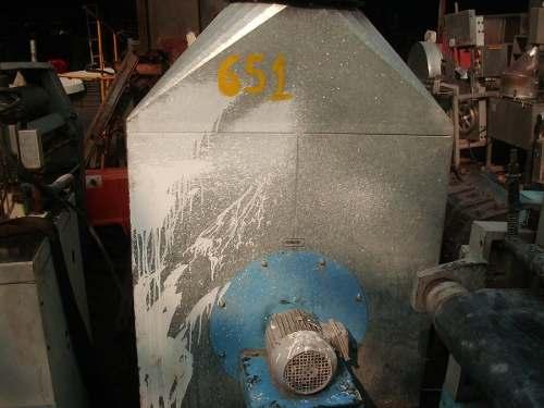 Bancada de lixação lixamento filtro manga C651  - Metalmaq