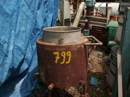 Tanque Reator De Inox Para Pressão 0,60x0,50m - C799  - Metalmaq