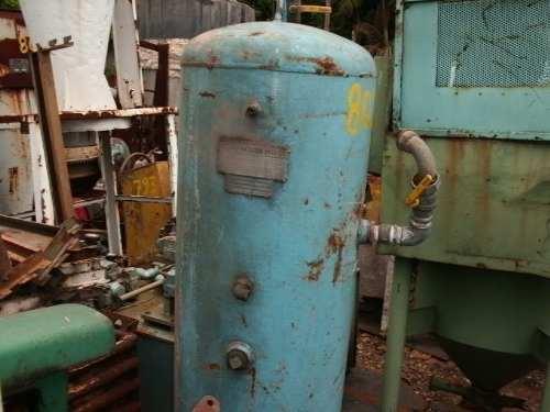 Tanque Cilindro Pulmão Compressor 350L 10Bar com NR13 C803  - Metalmaq