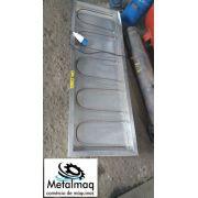 Aquecedor de marmita elétrica marmiteiro 160x50 cm-C1082