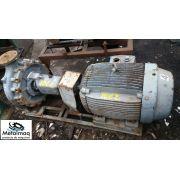 Bomba Dágua Com Motor 75 Hp 75 Cv 1750 Rpm- C1062
