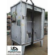 Cabine de pintura eletrostática- C1340
