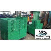 Caixa de Plástico Dobrável desmontável C1693