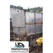 Caixa Tanque container reservatório Inox 1000 litros - C6039