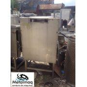 Caldeirão Panela cozinha Industrial de Inox 200 litros - C948