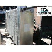 Chiller Trocador de calor inox placas quimico pasteurizador- C1306