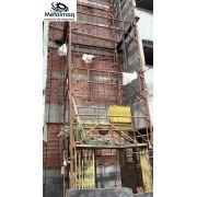 Elevador obra Guincho redutor Construção 10 Andares C6103