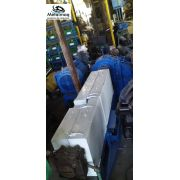 Extrusora de plástico 90mm motor 100hp com painel C1655