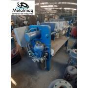 Filtro prensa 40x40 10 placas fechamento hidráulico C6089