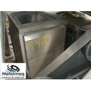 Fritadeira Industrial De Inox - C949