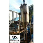 Misturador agitador inox liquido 350 litros p reator C1550