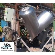 Misturador tipo V Y em aço inox 300 litros - C6287
