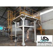 Misturador Vertical conico tipo Osório 6000 litros C1545