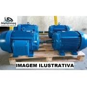 Motor elétrico 125 cv Trifasico 1700 rpm 4 polos Revis C3024