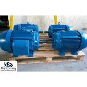 Motor elétrico 1 cv Trifasico 3500 rpm 2 polos Revisad C3036