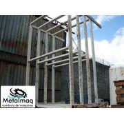 Prateleira de ferro Porta Pallet Resistente 200Altura; Largura 190; Comprimento300 peso 250kg- C1197