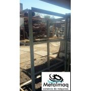 Prateleira Porta Pallet Resistente 120 Kg- C1019