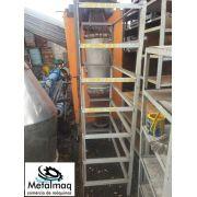Prateleira Porta pallet Resistente p/ porta moldes C3,13xL0,72xA2,38- C595