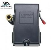 Pressostato Automático Lefoo 135/175 lbs 4 Via - C2686