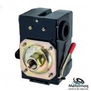 Pressostato Automático Lefoo 80/125 Psi 1 Via - C2685