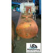 Pulmão Compressor De Ar 20 Pés Com Motor 5 Hp- C1409