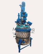 Reator Em Inox Batedor 600 Litros C1551