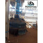 Reator vitrificado 5000 litros misturador C1553