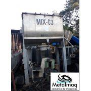 Ribbon blender misturador inox 4000L Químico Plástico C1864