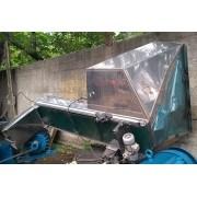 Silo esteira transportadora inox - C2699