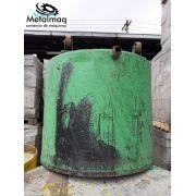 Tacho Aço Carbono misturador tinta grafiato 1200 litrs C6079